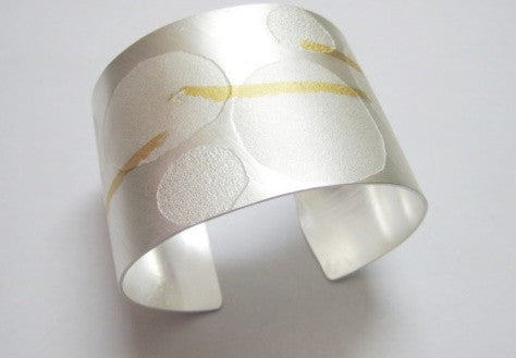A Touch of Gold Cuff Bracelet