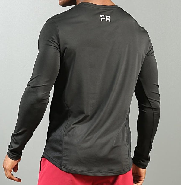 FA Support Long Sleeve Shirt - Black