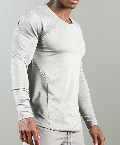 FA Support Long Sleeve Shirt - Icy Grey