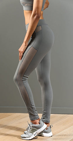 FA Side Tracked Leggings - Grey