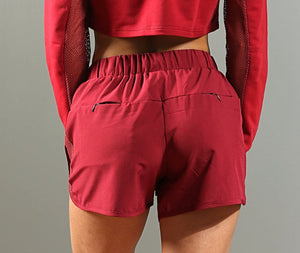 FAST Running Shorts - Ox Blood