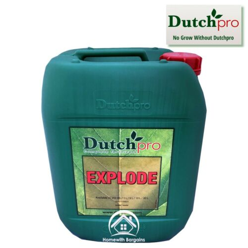 Dutch Pro Explode 5 Litre Flowering Bloom Bud Stimulator Booster Hydroponics