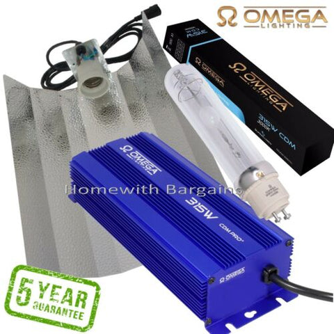 315w CDM Digital Omega Ballast FULL SUNLIGHT SPECTRUM (3000k) Grow Light Kit