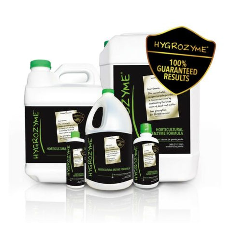 HYGROZYME Enzyme Plant Additive Root Cleaner Formula Hydroponics ALL SIZES