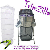 "TRIMZILLA Bud Leaf Trimming Bowl Machine Electric Table Trimmer 16"" 18"" HYDRO"