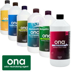 ONA Liquid Litre Refill, Odour Neutralising Agent Remove Odor Smells ALL SCENTS