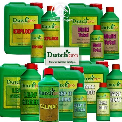 DUTCH PRO - Explode, Leaf Green, Multi Total, Take Root, CalMag, Keep it Clean
