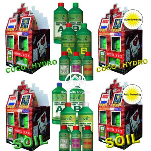 Dutch Pro STARTER KIT Coco/Hydro or Soil & Auto Flowering Grow Bloom Bud Explode