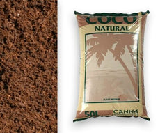 CANNA COCO NATURAL 50 Litre Bag Coir Growing Plant Medium Hydroponics