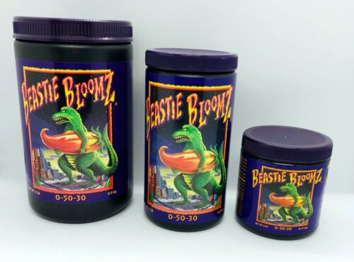 BEASTIE BLOOMZ Flowering Booster Bloom Additive FoxFarm Nutrients Hydroponics