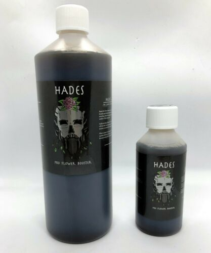 HADES PRO Flower Bud Bloom Booster PGR Additive Increase Yields Hydroponics