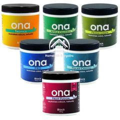 ONA 170g Block Odour Control Neutraliser Eliminate Smells ALL SCENTS Hydroponics