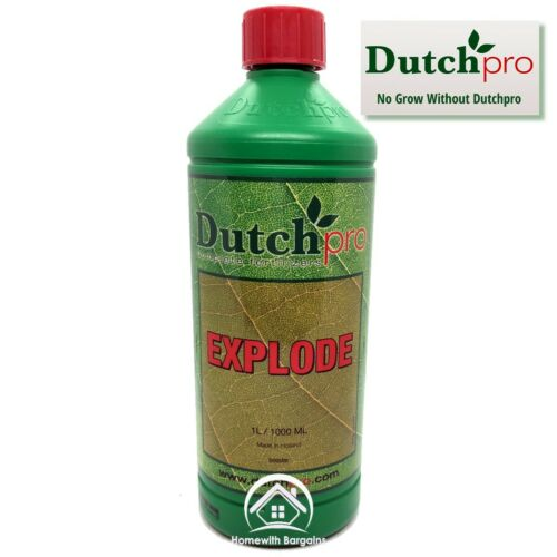 Dutch Pro Explode 1 Litre Flowering Bloom Bud Stimulator Booster Hydroponics