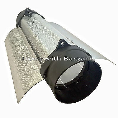 "8"" (200mm) CoolTube Shade Grow Room Cool Wing Air Cooled Reflector Hydroponics"