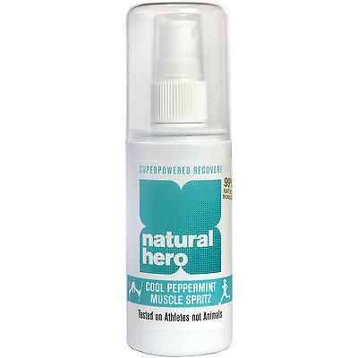 Natural Hero Freeze and Ease Sports Muscle Spray - 100ml