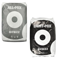 BIOBIZZ All Mix or Light Mix 50L Organic Potting Soil Compost Grow HYDROPONICS