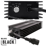 600w LUMii BLACK Dimmable Digital Ballast + HPS Dual Spectrum Bulb Hydroponics
