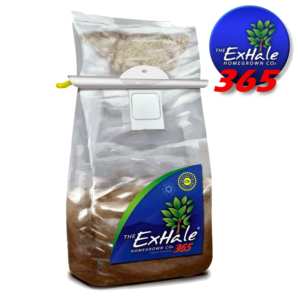 Exhale XL, 365 CO2 Boost Homegrown Bag Environment Control Hydroponics Grow Bloom