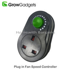Plug in Fan Speed Controller, Dimmer Control, Reducer Hydroponics