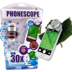 Mobile Phone Magnifying Microscope up to x30 Zoom Plants Leaves Spider Mite Bugs