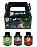 Plant Magic Plus Try-Pack Magne-Cal+, Ignition, Root Stimulant 250ml Nutrients