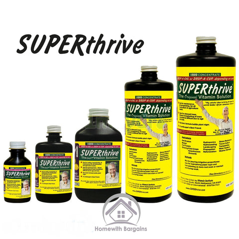 SUPERTHRIVE Plant Vitamins Hormones World No.1 Stress Relief Nutrient Hydroponics