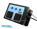 Vortex Twin Speed Fan Controller, Thermostatic Temperature Adjustable Climate Control