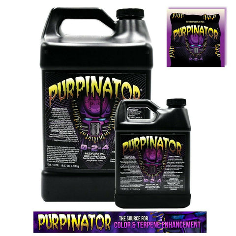 Green Planet PURPINATOR 1L & 4 Litre Terpinoid Taste Aroma Oil Enhancer Additive