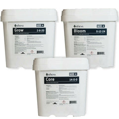 Athena PRO LINE 3 Part Nutrients - GROW, CORE & BLOOM Soluble Base Fertilizer