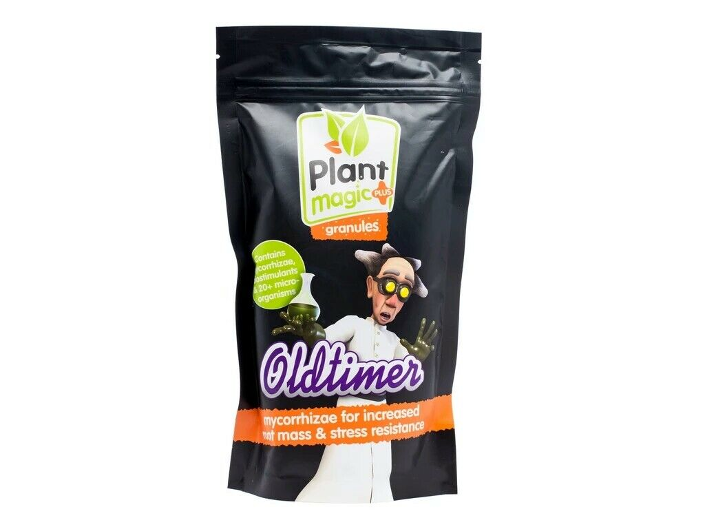 Plant Magic OldTimer Organic Grow, Bloom, PK 4-8, Root Granules Plant Nutrient