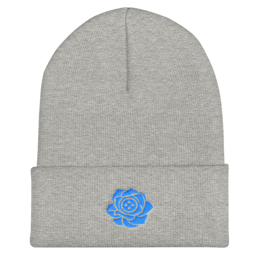 SXS Button Rose Logo Beanie (Blue)