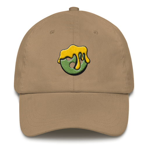 SXS Lime Button Dad Hat