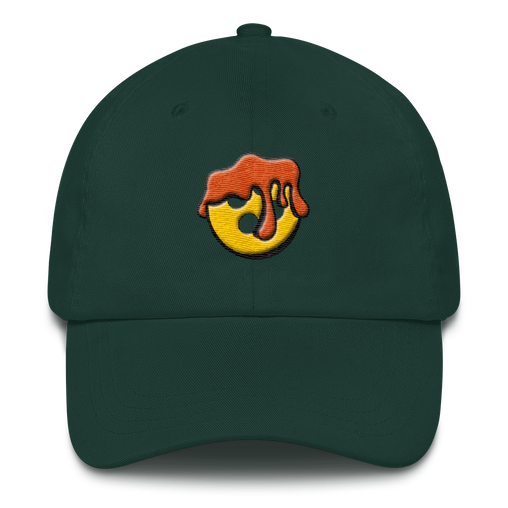 SXS Orange Button Dad Hat