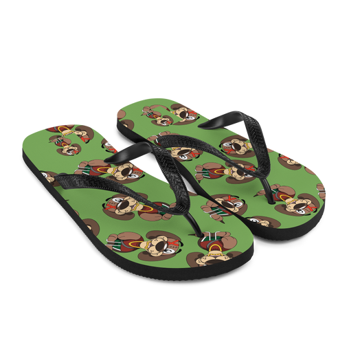 Corduroy's Everywhere Flip-Flops (Lime)