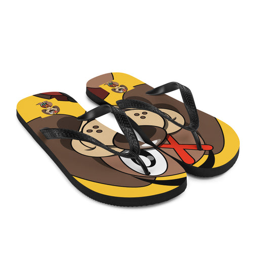 Corduroy the Dog Flip-Flops