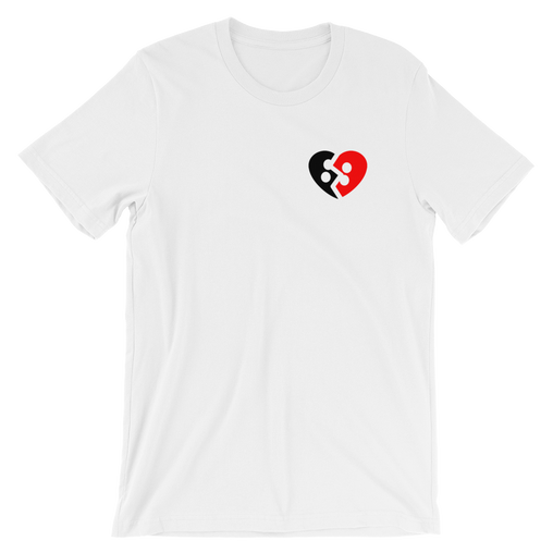 SXS Broken Heart Black/Red T-Shirt