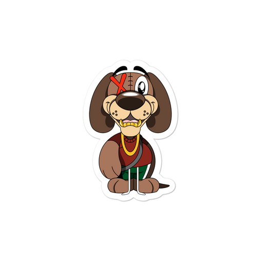 Corduroy the Dog Stickers