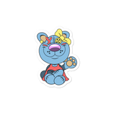 Stuffina the Bear Sticker