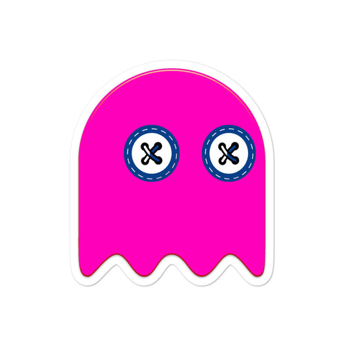 SXS Pink Ghost Sticker