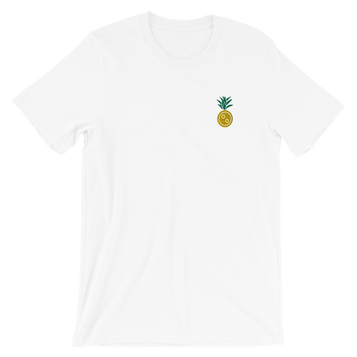 SXS Pineapple Embroidered Button T-Shirt
