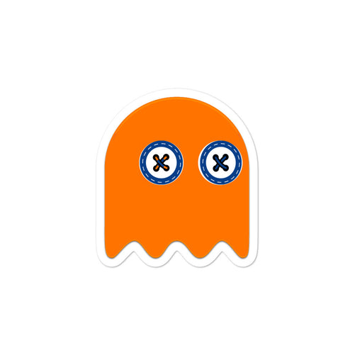 SXS Orange Ghost Sticker