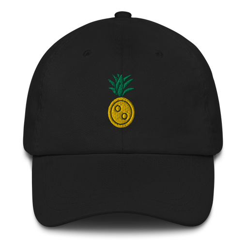 SXS Button Pineapple Dad Hat