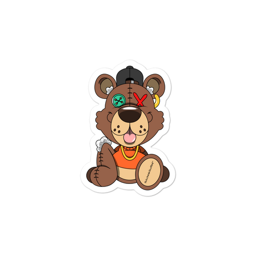 Stitches the Bear Sticker