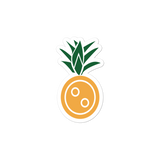 SXS Pineapple Button Sticker