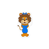 Ruffles the Lion Sticker