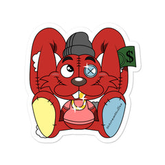 Thready the Rabbit Sticker