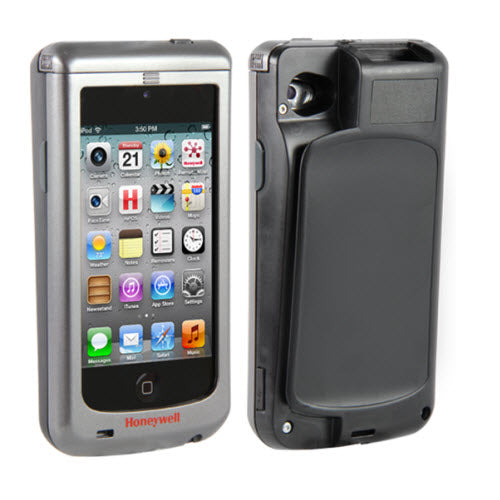 CAPTUVO SL22 SLED FR APPLE IPOD TOUCH 5/6 STD BATT SR IMAGER BLACK - Calsentry