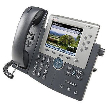 Cisco Unified 7965G VoIP Phone - Silver/Dark Gray - Calsentry