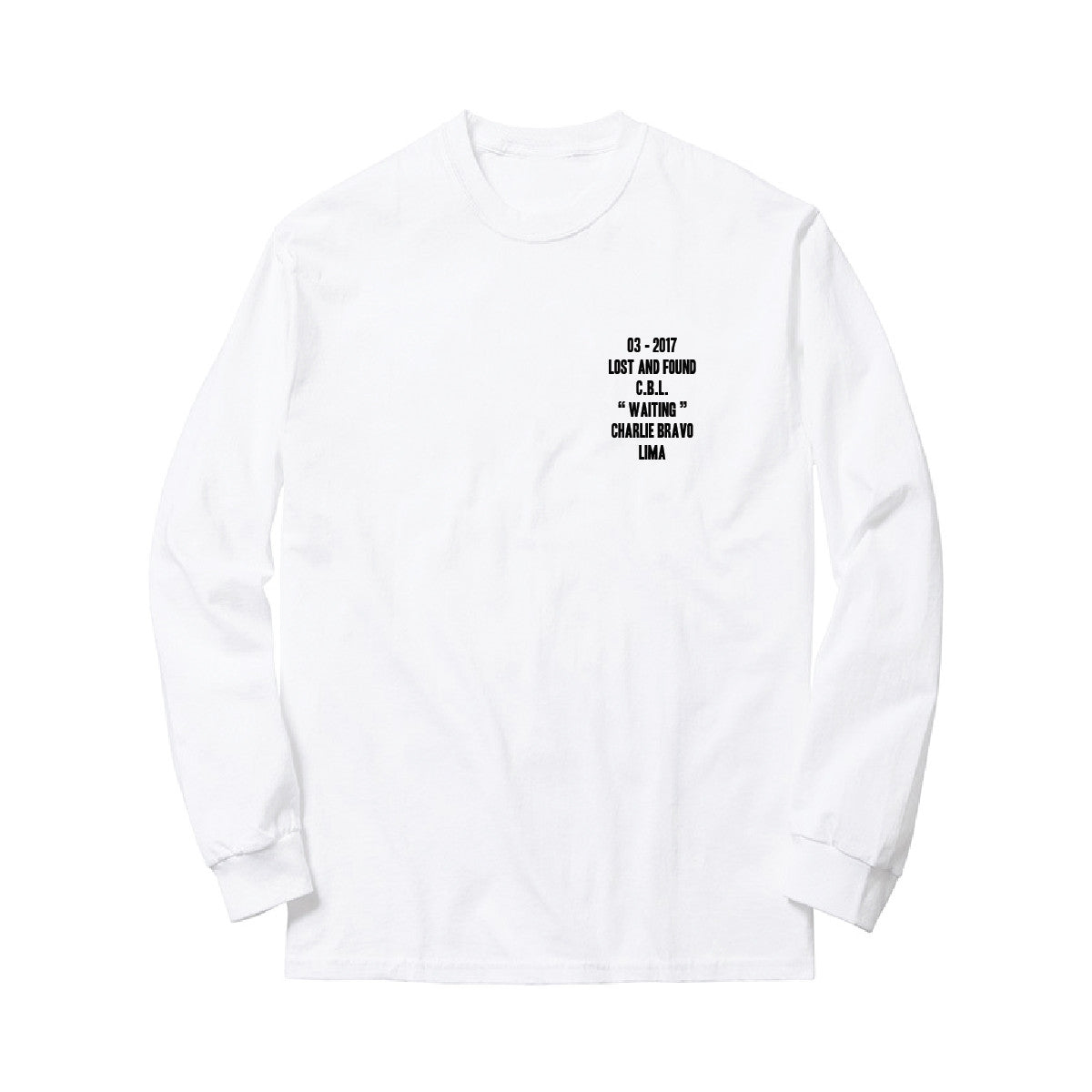 CASH - LONG SLEEVE - WHITE