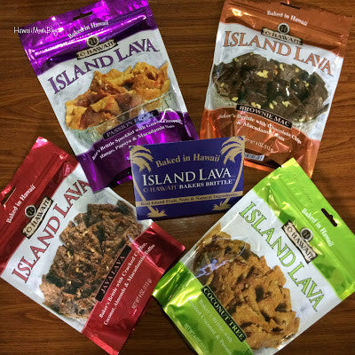 Island Lava Baker's Brittle Review